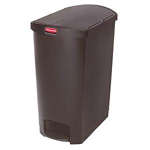 Pedaalvuilnisbak Slim Jim 90 L, zwarte kleur