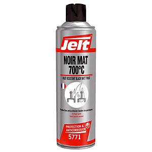 Peinture de protection Noir Mat 700°C Jelt 400 ml