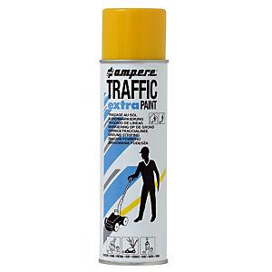Peinture Traffic Extra AMPERE pour système de traçage jaune aérosol 500 ml