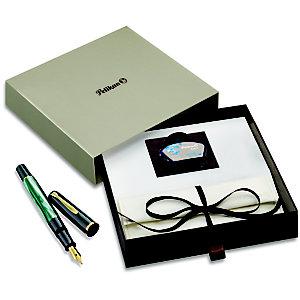 Pelikan Penna stilografica M200, Fusto verde marmorizzato