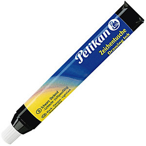 Pelikan Tinta china en tubo cargador, 9 ml, negro