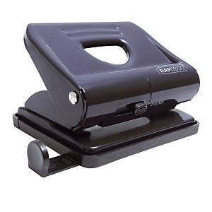 Perforateur 2 trous 820 en métal Rapesco coloris noir
