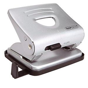 Perforateur 2 trous en métal 825 Rapesco coloris gris