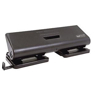 Perforateur 4 trous 75-P Rapesco coloris noir