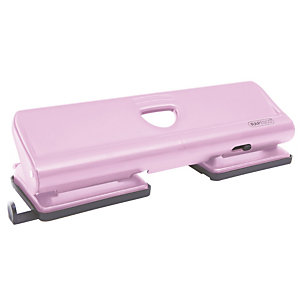 Perforateur 4 trous en métal 720 coloris rose