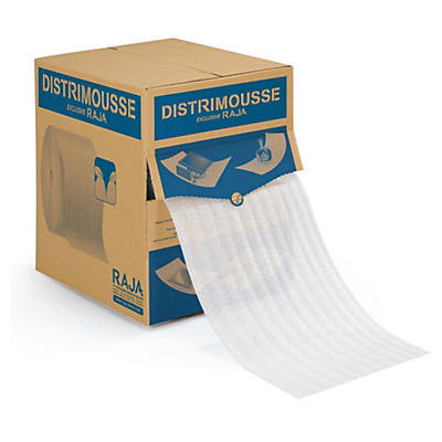 Film mousse prédécoupé en boîte distributrice DISTRIMOUSSE##Perforierte Schaumfolie in der Spenderbox DISTRIMOUSSE