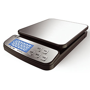 Pèse lettres et colis électronique LB OFFICE 30kg coloris noir/gris argenté