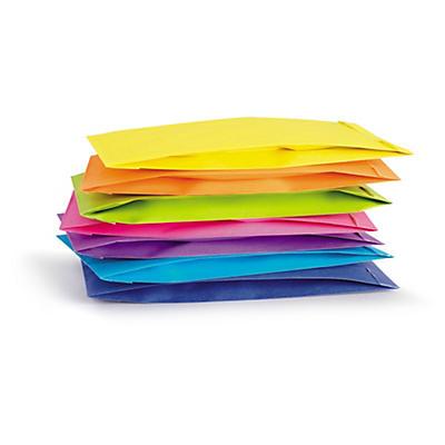 Pestré papierové sáčky