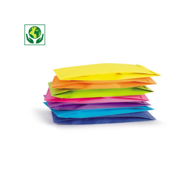 Pestré papírové sáčky