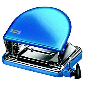PETRUS 52 Clásico Taladro metálico de oficina, azul metalizado