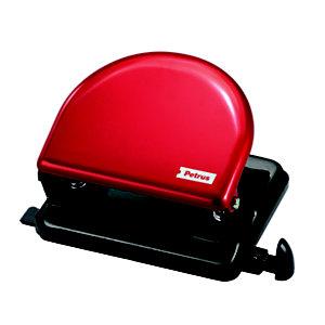 PETRUS 52 Clásico Taladro metálico de oficina, rojo