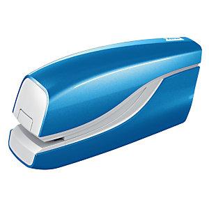 PETRUS WOW E-310 Grapadora eléctrica a pilas (no incluidas), azul