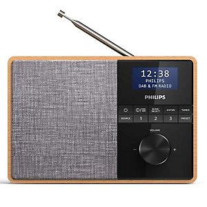Philips, Audio portatile / hi fi, Radio dab  bluetooth e timer cucina, TAR5505/10