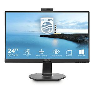 "Philips B Line 241B7QUBHEB/00, 60,5 cm (23.8""), 1920 x 1080 Pixeles, Full HD, LED, 5 ms, Negro"