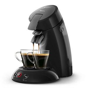 Philips Senseo Original HD7817 - machine à café - 1 bar - noir corbeau