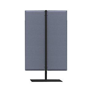 Piantana fonoassorbente mobile, h 140 cm, Blu