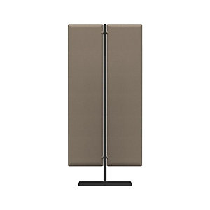 Piantana fonoassorbente mobile, h 140 cm, Grigio