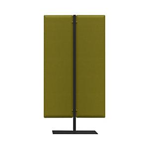 Piantana fonoassorbente mobile, h 140 cm, Verde