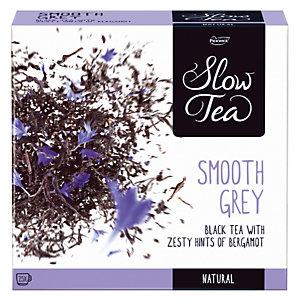 PICKWICK Boîte de Thé Noir, Slow Tea Smooth Grey 25 sachets.