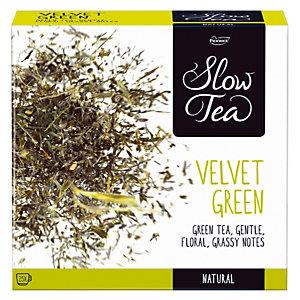 PICKWICK Boîte de Thé, Slow Tea Velvet Green 25 sachets.