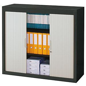 PIERRE HENRY Armario de persiana Classtout 120 x 100 cm antracita/gris