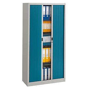 PIERRE HENRY Armario de persiana Classtout 90 x 180 cm gris/azul