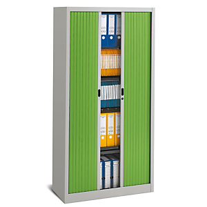 PIERRE HENRY Armario de persiana Classtout 90 x 180 cm gris/verde