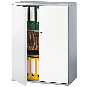 PIERRE HENRY Armario de puertas batientes Starting 105 (alt) aluminio/blanco