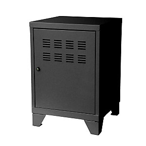 PIERRE HENRY Casillero metálico, altura 58 cm, negro