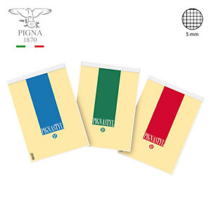 PIGNA Blocchi  - Quadretto 5 mm (confezione 10 pezzi)