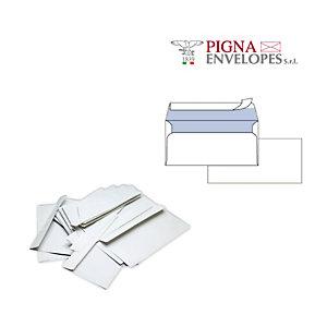 PIGNA Busta bianca senza finestra - serie Edera Strip - 110x230 mm - 90 gr - Pigna - conf. 500 pezzi