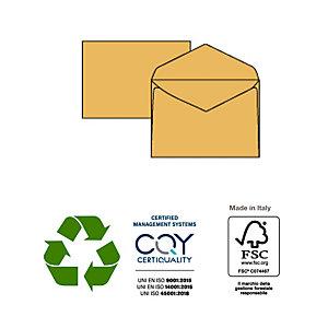PIGNA Busta gialla senza finestra - serie Giallo Postale - 120x180 mm - 80 gr - Pigna - conf. 500 pezzi