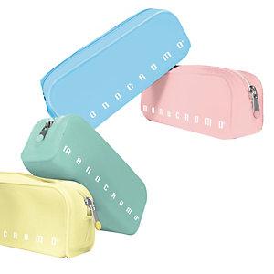 PIGNA Bustina Monocromo - 80 x200 x 60 mm - silicone soft touch - colori assortiti pastel - Pigna