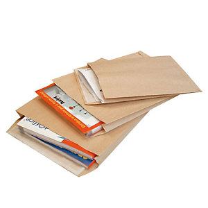 PIGNA Largemail, Busta per catalogo, Autoadesiva, Carta Kraft, B4 internazionale, 353 x 250 x 40 mm, Avana (confezione 250 pezzi)