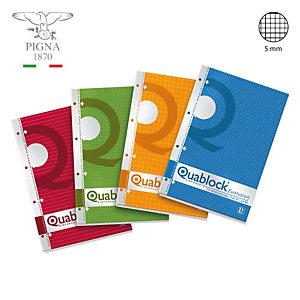 "PIGNA Quaderni collati ""Quablock"" - Quadretto 5 mm (confezione 5 pezzi)"