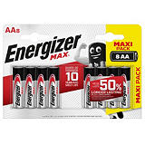 Pile Alcaline Energizer MAX