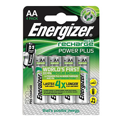 Pile ricaricabili Energizer Power Plus