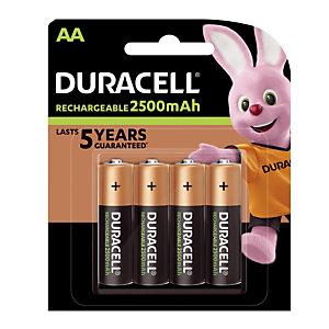 Piles rechargeables Ultra AA, lot de 4 piles
