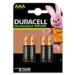 Piles rechargeables Ultra AAA, lot de 4 piles