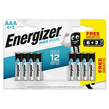 Pilhas alcalinas High Tech Energizer
