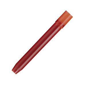 Pilot Hi-Tecpoint V5/V7 Refill per roller, Inchiostro rosso (confezione 3 pezzi)