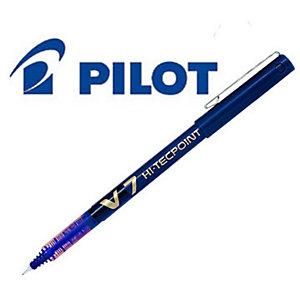 Pilot Hi-Tecpoint V7 Roller Stick, Punta fine, Fusto blu, Inchiostro blu