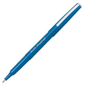 Pilot Stylo-feutre, pointe fine, corps bleu, encre bleue