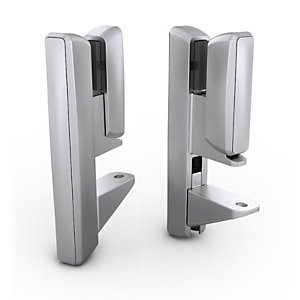 Pinces de fixation pour panneau-écran acoustique Softwall pour bureau individuel épaisseur 30 mm - Blanc