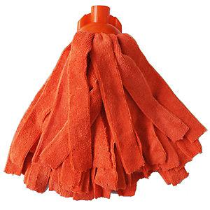 PIPPO Mop in microfibra, Arancione, 150 gr