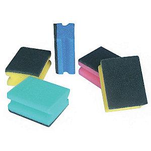 PIPPO Spugne abrasive, Colori assortiti (confezione 5 pezzi)