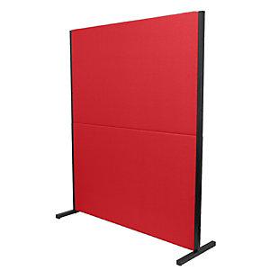 PIQUERAS Y CRESPO Valdeganga Biombo separador, tapizado rojo