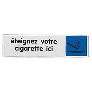 Plaatje doof uw sigaret hier
