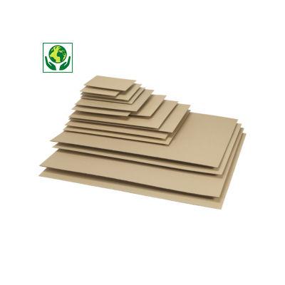 Placas de cartão canelado para caixas de mudanças