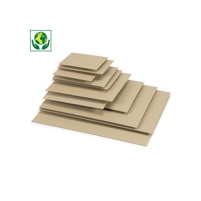 Plancha de cartón ondulado